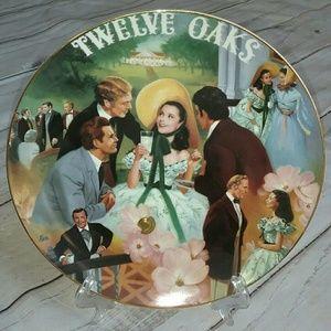 Scarlett: Belle of the 12 Oaks BBQ musical plate